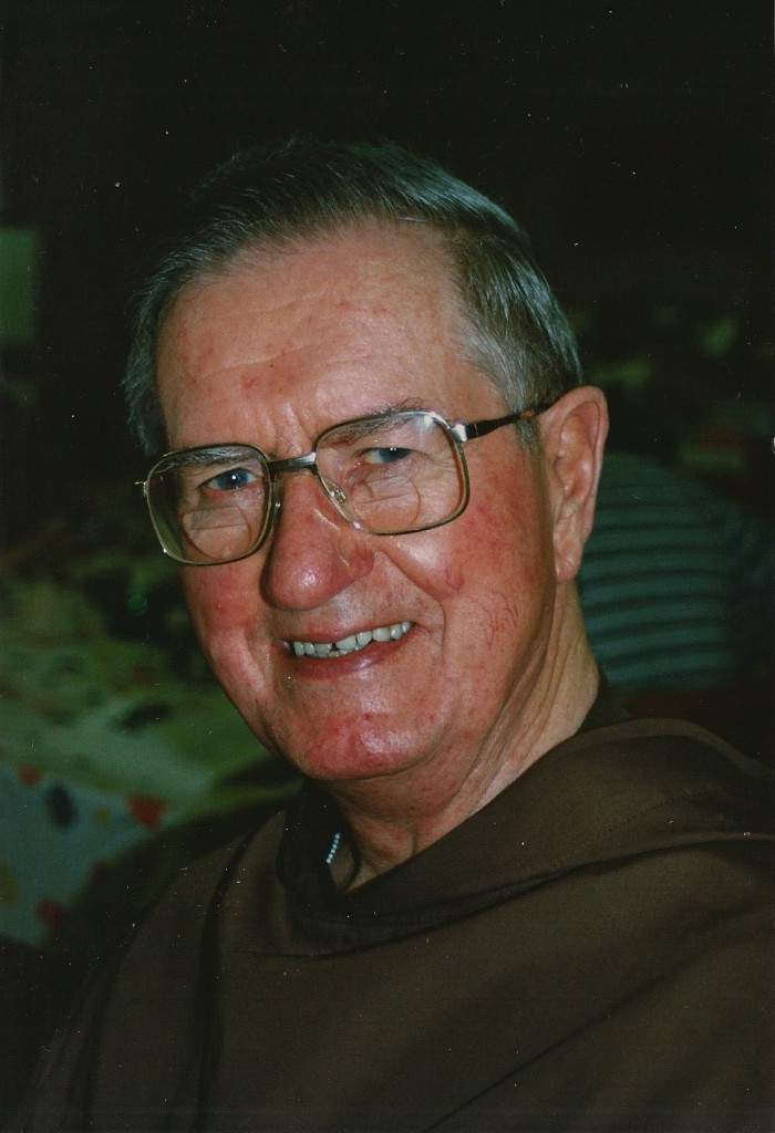 Like a true Irishman, Fr Kelly had a fund of stories with which he would regale visitors. PHOTO: Courtesy Carmelites