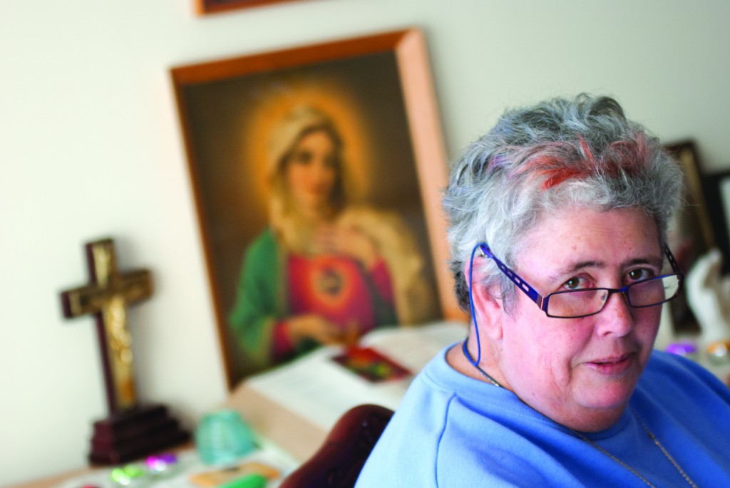 Consecrated Virgin, Maureen Togher says people who read erotic fantasy get far more than what they bargain for. PHOTO: Robert Hiini
