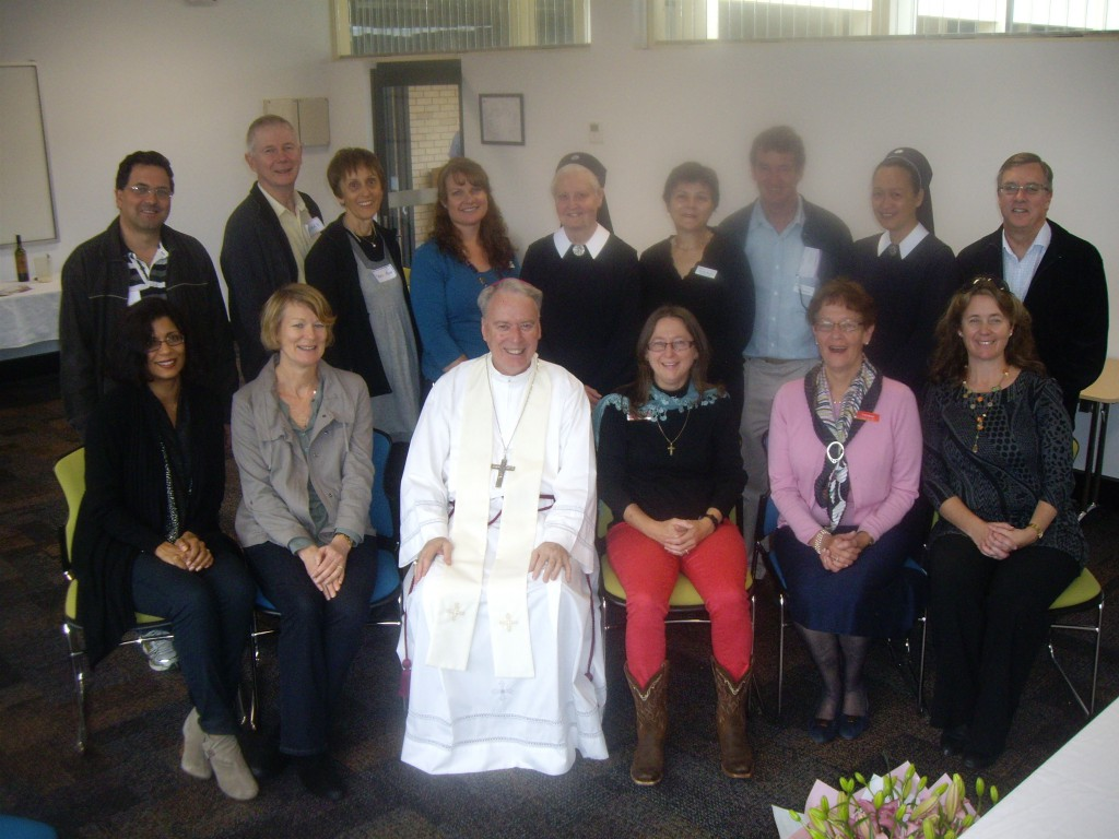 Bishop Don Sproxton joined Natural Family Planning educators and supporters at the NFP Week Mass on August 11.