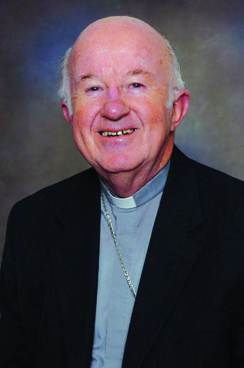 Bishop Peter Connors of Ballarat, who steps down in October. PHOTO: Supplied