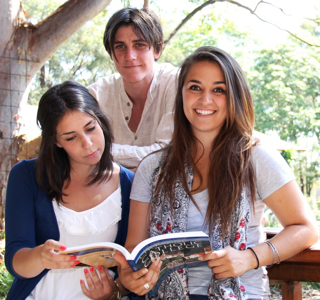 Campion students in Sydney enjoy each other's company. The college offers Australia's only undergraduate liberal arts program.