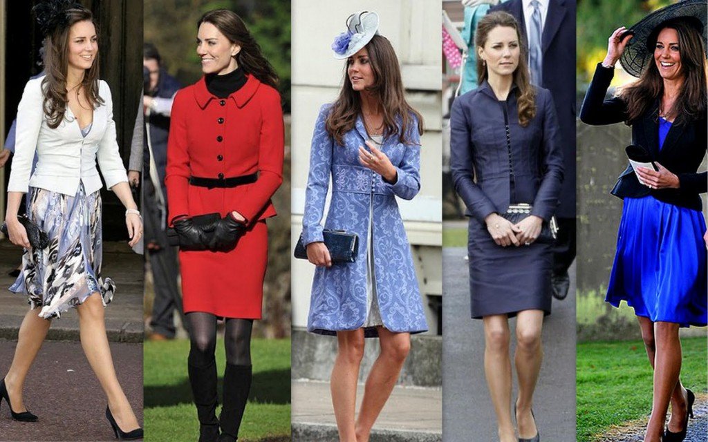 A good example of recent times of Modesty by the Duchess of Cambridge.
