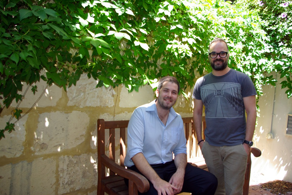 UNDA's Jarrad Goold, left, and Dr Daniel Baldino researched the impact of social media in Iran following the country's 2009 Presidential elections. Their view, soon to be published in the Australian Journal of International Affairs, is that media overestimated the power of social media to spread dissent.