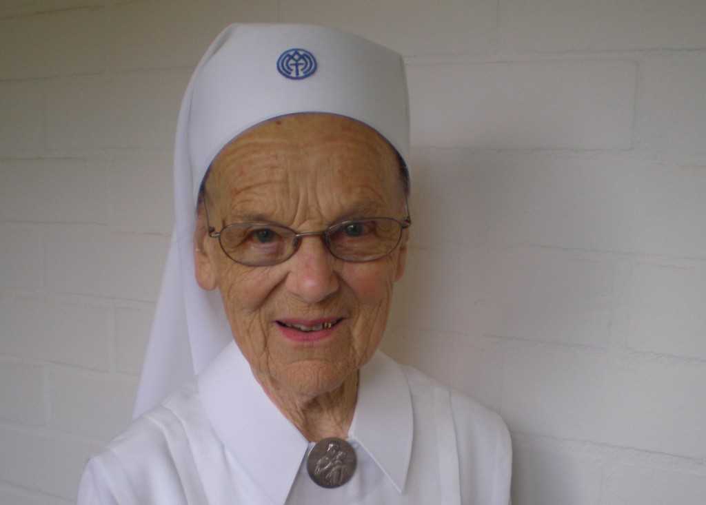 Sr M Patrocla Stuecker, who died on January 14, was beloved on both sides of the country. Photo: Schoenstatt Sisters