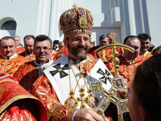 Patriarch Sviatoslav Shevchuk, pictured above, says Pope Francis knows and loves the traditions of the Ukrainian Catholic Church.