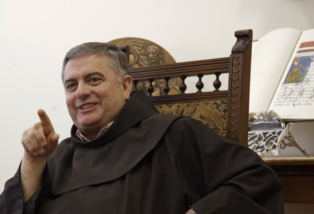 Franciscan Father Jose Rodriguez Carballo is pictured at the Franciscan general curia offices in Rome in 2010. The superior general of the Order of Friars Minor has been appointed by Pope Francis as secretary of the Vatican office that oversees the world's religious orders. It was the new pope's first curial appointment. PHOTO: CNS/Octavio Duran