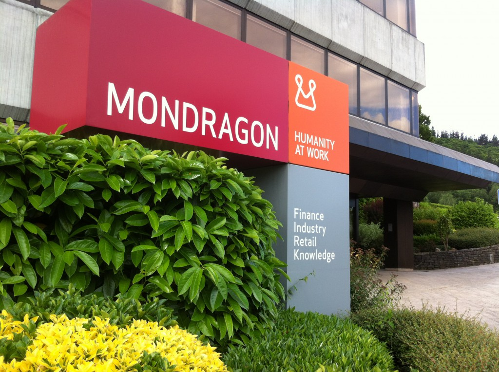 The MONDRAGON Corporation is a corporation and federation of worker cooperatives based in the Basque region of Spain. PHOTO: Online Source
