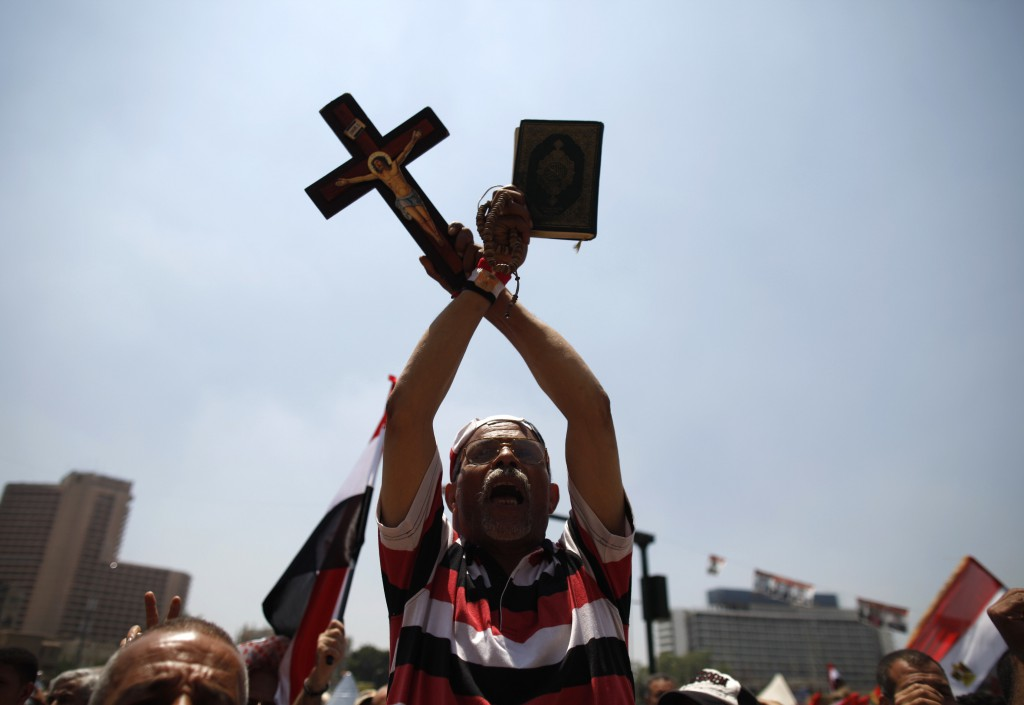 Father Hani Bakhoum Kiroulos of Egypt... Catholic Spokesman Defends Egyptian Army Crackdown Against Protesters