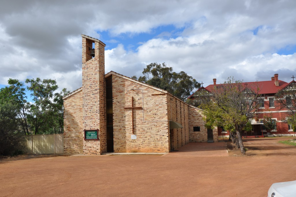 The church of St John the Baptist in Toodyay will celebrate its 50th anniversary on November 17. PHOTO: Michael Shepherd