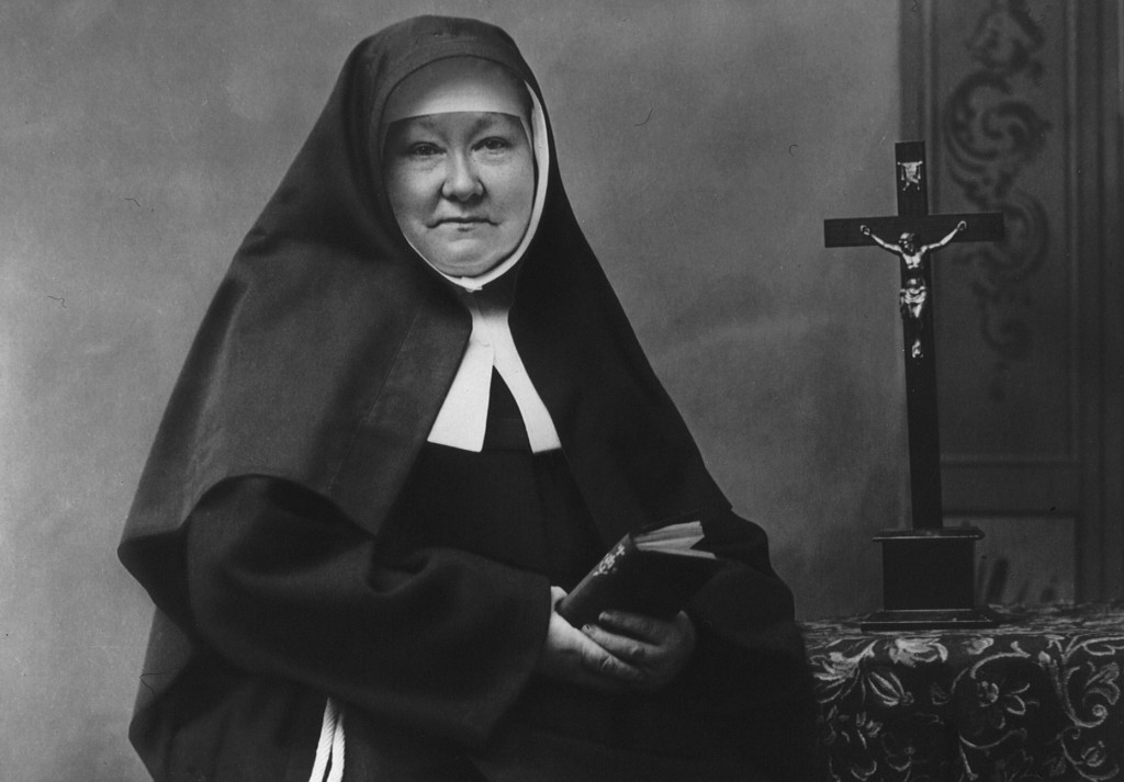 Mother Theresia Bonzel, foundress of the Sisters of St. Francis of Perpetual Adoration will be beatified on Nov. 10 in Paderborn, Germany. PHOTO: CNS/courtesy St. Francis of Perpetual Adoration Motherhouse