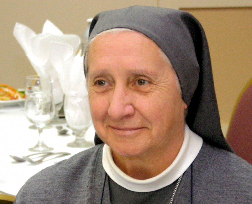 Consolata Sister Eugenia Bonetti told Catholic News Service that the pope was very interested in their suggestion and asked them what date they would like the day to be. PHOTO: CNS/Ana Rodriguez-Soto, Florida Catholic