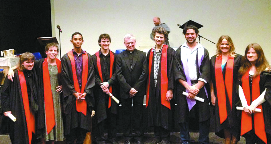 The eight 2013 graduates from Acts 2 College of Mission and Evangelisation, which is celebrating its 10th year in 2014.