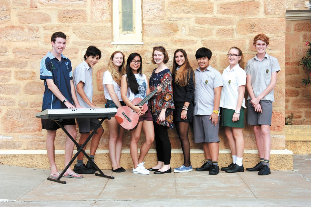 Members of the Geraldton Catholic Youth Group will travel to Perth for the Steve Angrisano music workshop later this month.