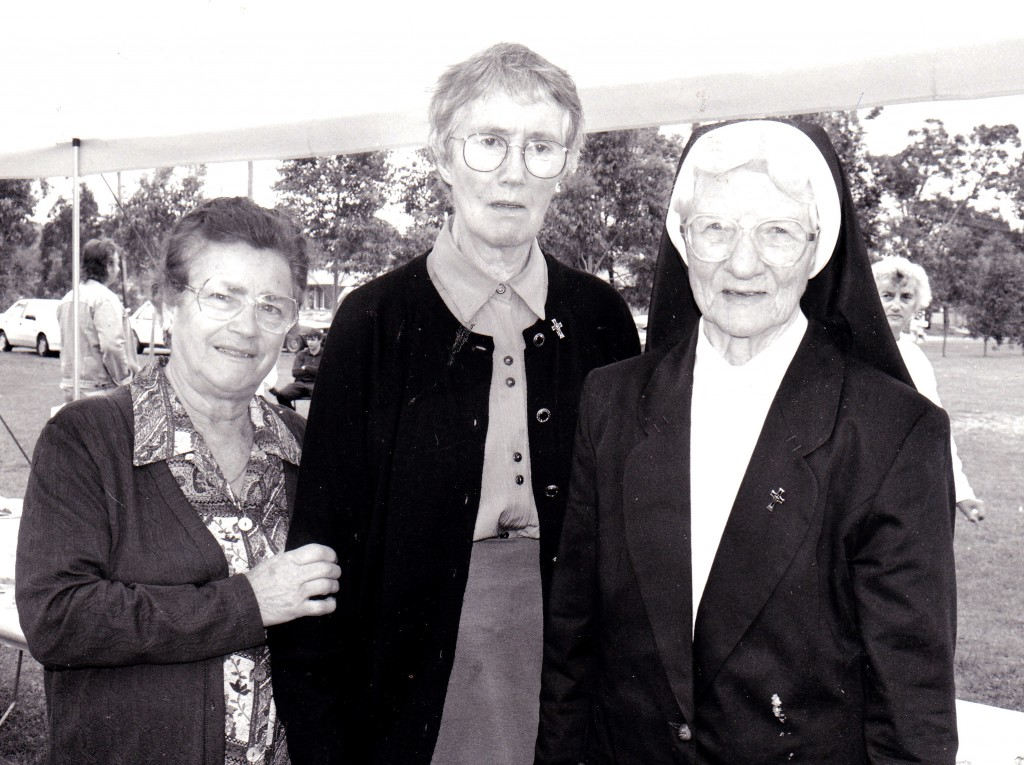 Sr Mary Rosarii, at right, passed away peacefully on May 24 at Mercy Aged Care in Wembley.