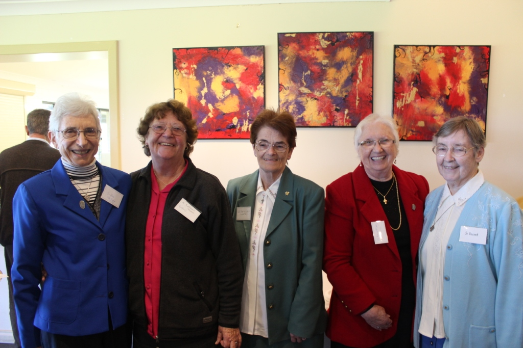 A large number of Presentation Sisters who had previously served in the parish in the former Convent School and Sisters from St Joseph who currently conduct a Wheatbelt-Mission were present at the occasion.