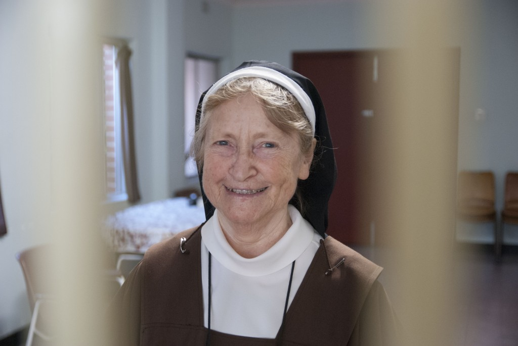 Perth Carmelite, Sr Margaret Mary, provided an insight into contemplative life in this year dedicated to consecrated life. PHOTO: Marco Ceccarelli
