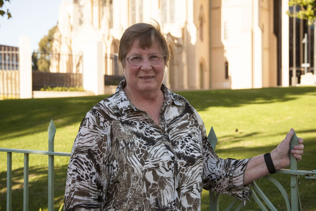 Working towards the elimination of human trafficking: Sr Lucy van Kessel has been Coordinator of Australian Catholic Religious Against Trafficking in Humans (ACRATH) in WA for the past six years. PHOTO: Jamie O'Brien