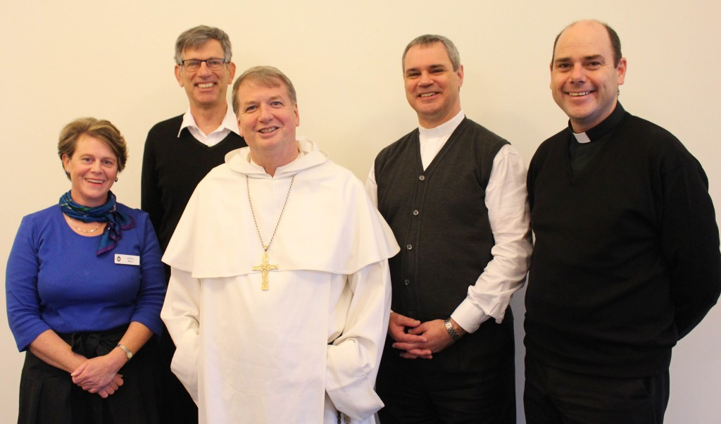 Members of the newly established Bishops Commission for Family, Youth and Life with Executive Secretary Alison Burt. PHOTO: Courtesy ACBC.