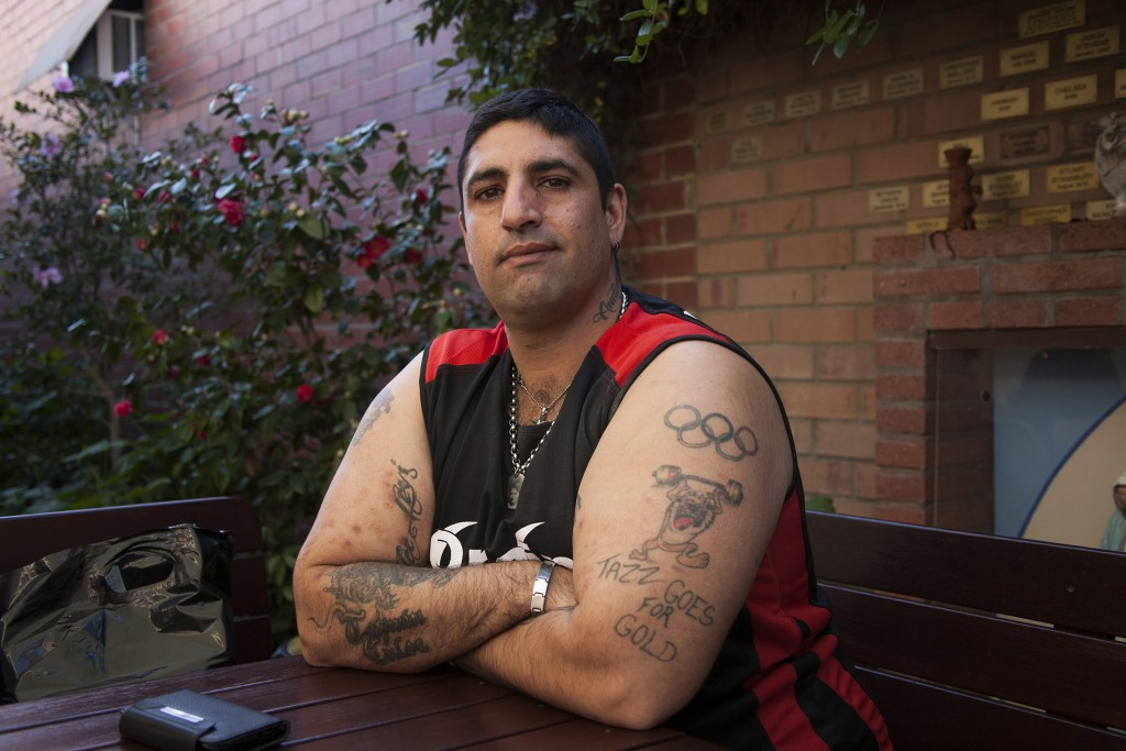 36-year-old Rosario Murace has utilised the services offered by The Shopfront, located in Maylands. PHOTO: Jamie O'Brien