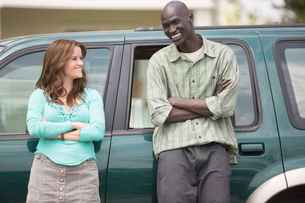 Carrie (Reese Witherspoon) and Jeremiah (Ger Duany) in a scene from THE GOOD LIE, directed by Philippe Falardeau. PHOTO: Entertainment One