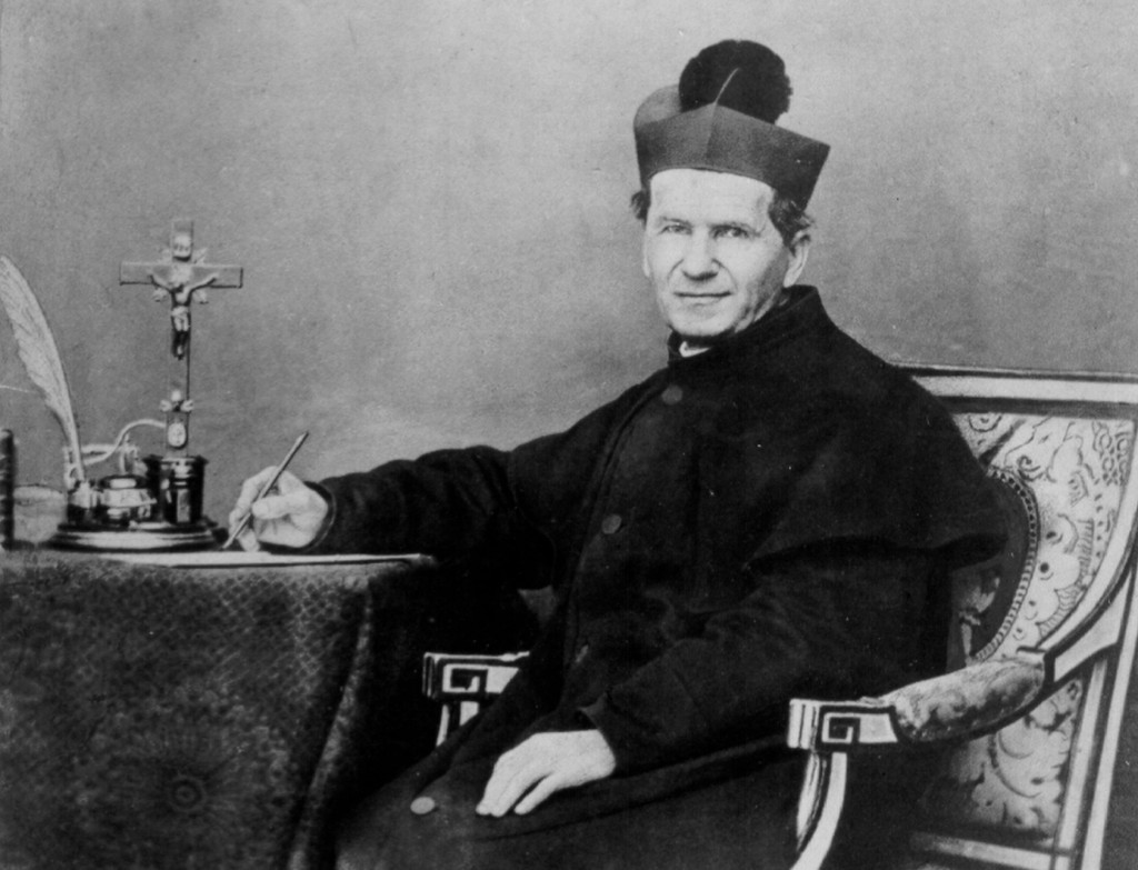 St. John Bosco, founder of the Salesian order, is seen in a historical image from the Salesian Central Archives. PHOTO: CNS/courtesy of Salesian Central Archives