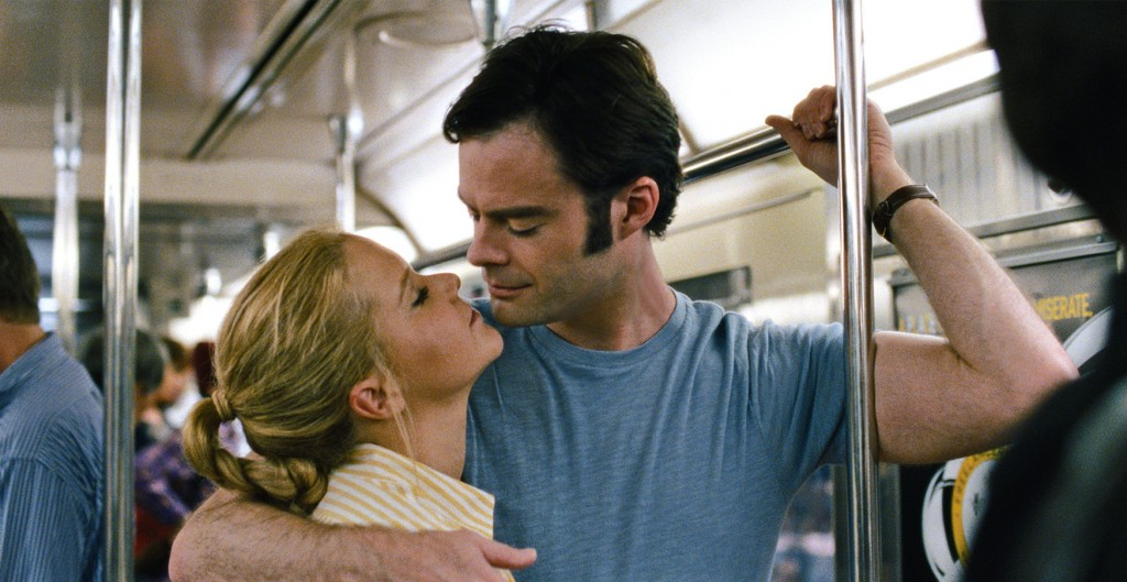 Amy Schumer and Bill Hader star in a scene from the movie Trainwreck. The Catholic News Service classification is O - morally offensive. PHOTO CNS/Universal