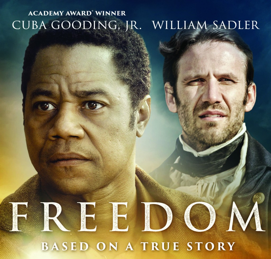 Starring Cuba Gooding Jr and William Sadler, Freedom is a bold film with a strong message about freedom, linked with the religious conversion of John Newton, author of Amazing Grace. PHOTO: Supplied