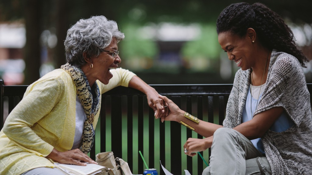 Karen Abercrombie and Priscilla Shirer star in a scene from the movie War Room. PHOTO: CNS