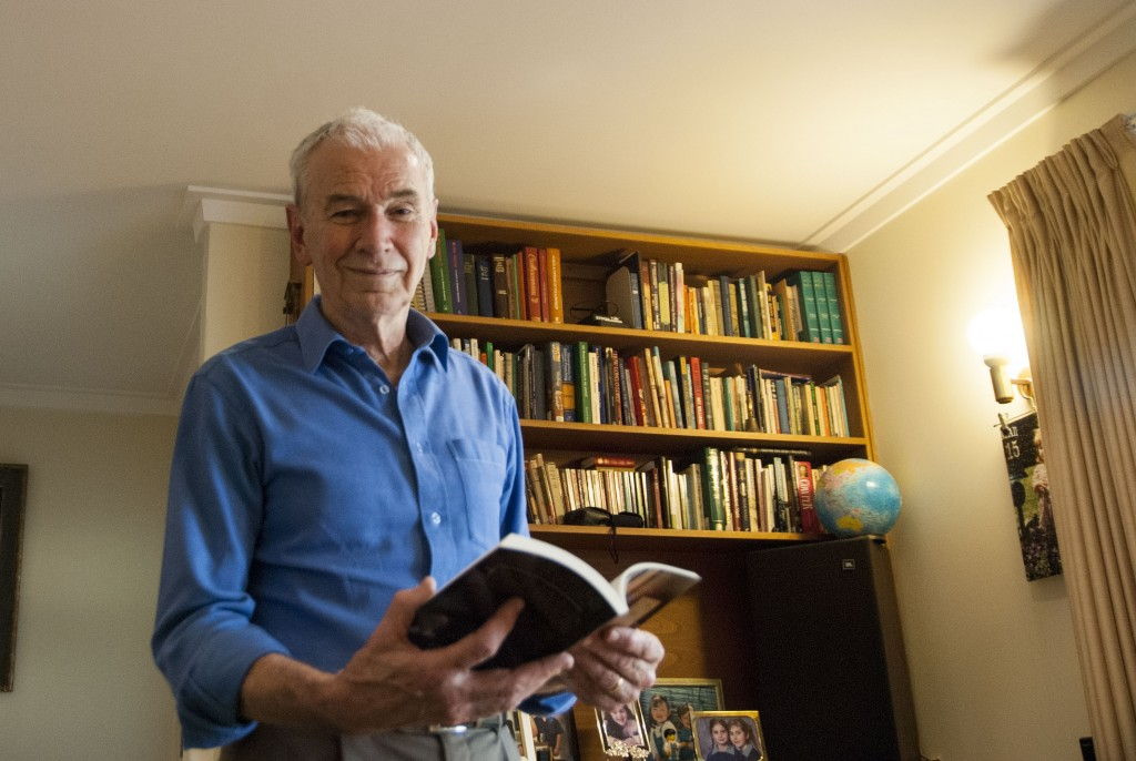Christian Doctor Lachlan Dunjey will be downgrading to a one-and-a-half day working week after having lived a fulfilling and rewarding 47-year career as a general practitioner in Perth. PHOTO: Marco Ceccarelli