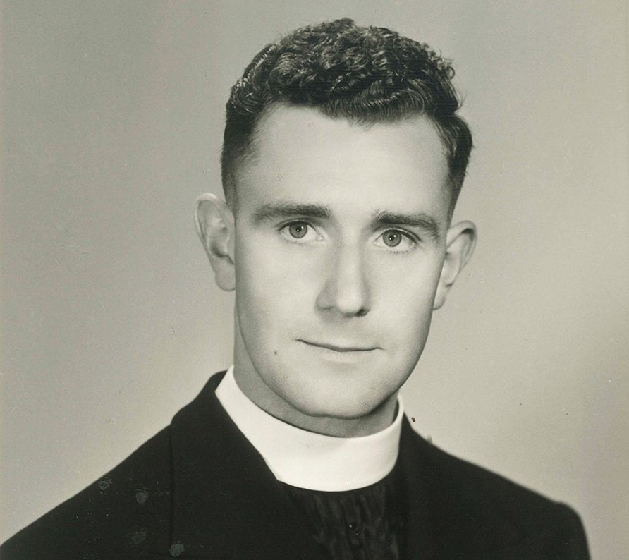 Mgr Bryan Maurice Long served as priest in numerous parishes within the state of Victoria and was appointed Vicar General of the Diocese of Sandhurst in April 1980. He passed to the Father, aged 86, and in the 62nd year of his priesthood, on 12 October 2015. PHOTO: Supplied