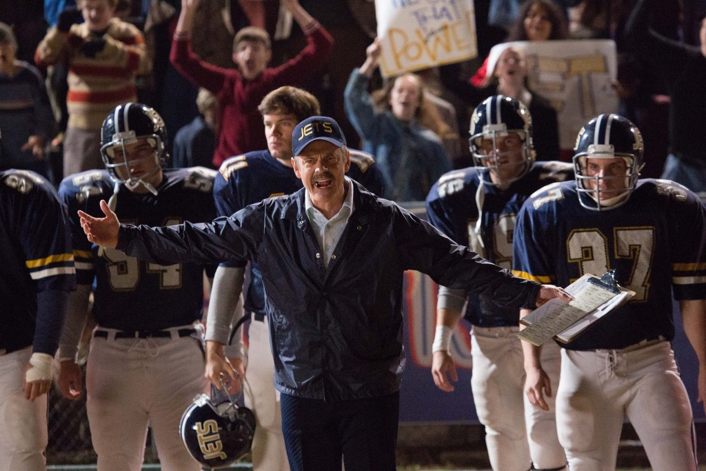 C Thomas Howell stars in a scene from the movie Woodlawn. PHOTO: CNS/Pure Flix