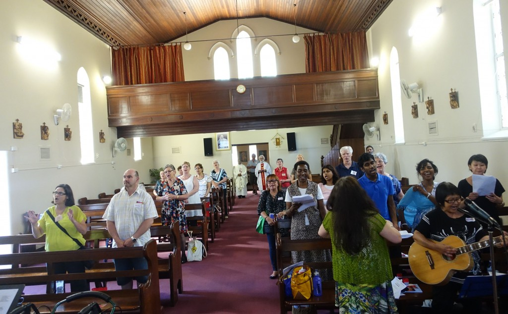 The Emmanuel Centre has this year celebrated Mental Health Week with a day of Reflection and Mass on Saturday, 10 October at St Francis Xavier Church in Windsor St, East Perth. PHOTO: Supplied