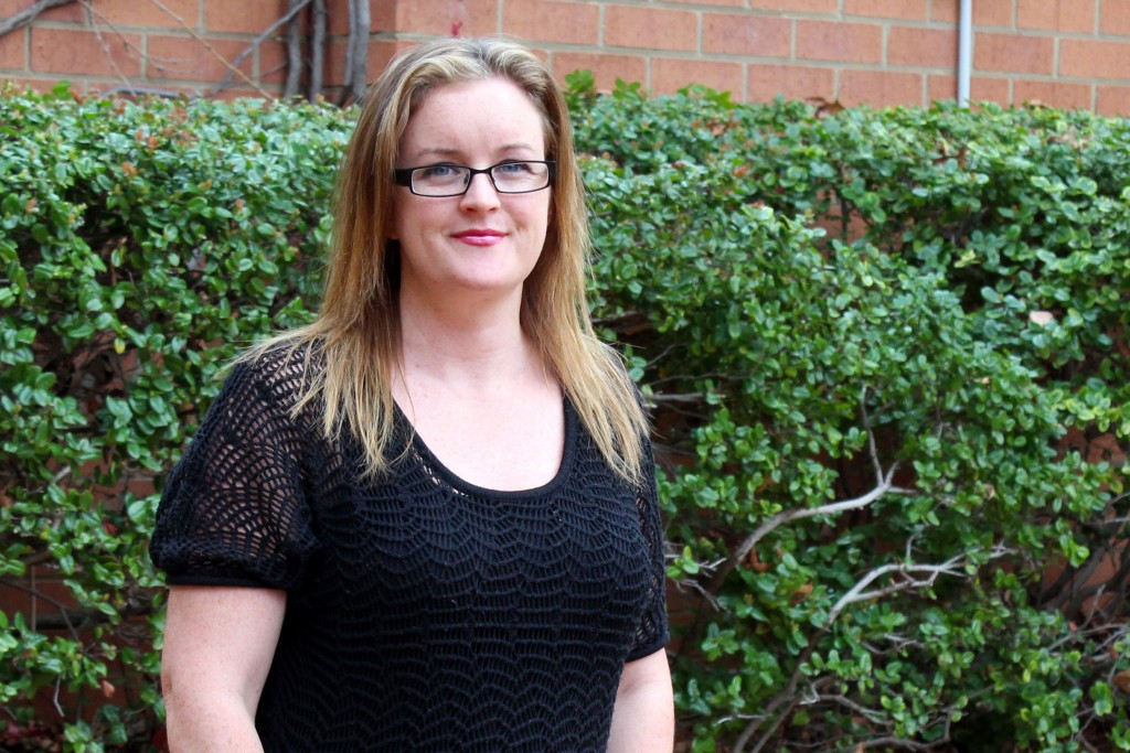 Research conducted by Tegan Grace (pictured) and Professor Beth Hands can lead to the development of programs to support pregnant mothers through any challenges they may experience. Photo: Supplied