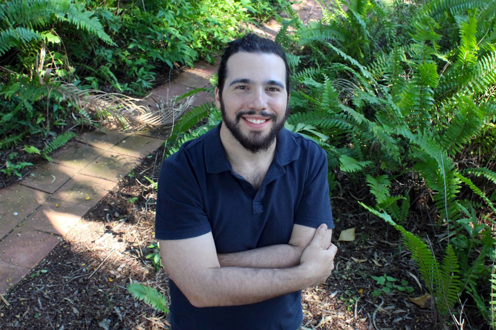 William Lempert has spent the past 14 months in the Kimberley completing his PhD on the topic: Broadcasting Indigeneity: The Social Life of Aboriginal Media. Photo: Supplied