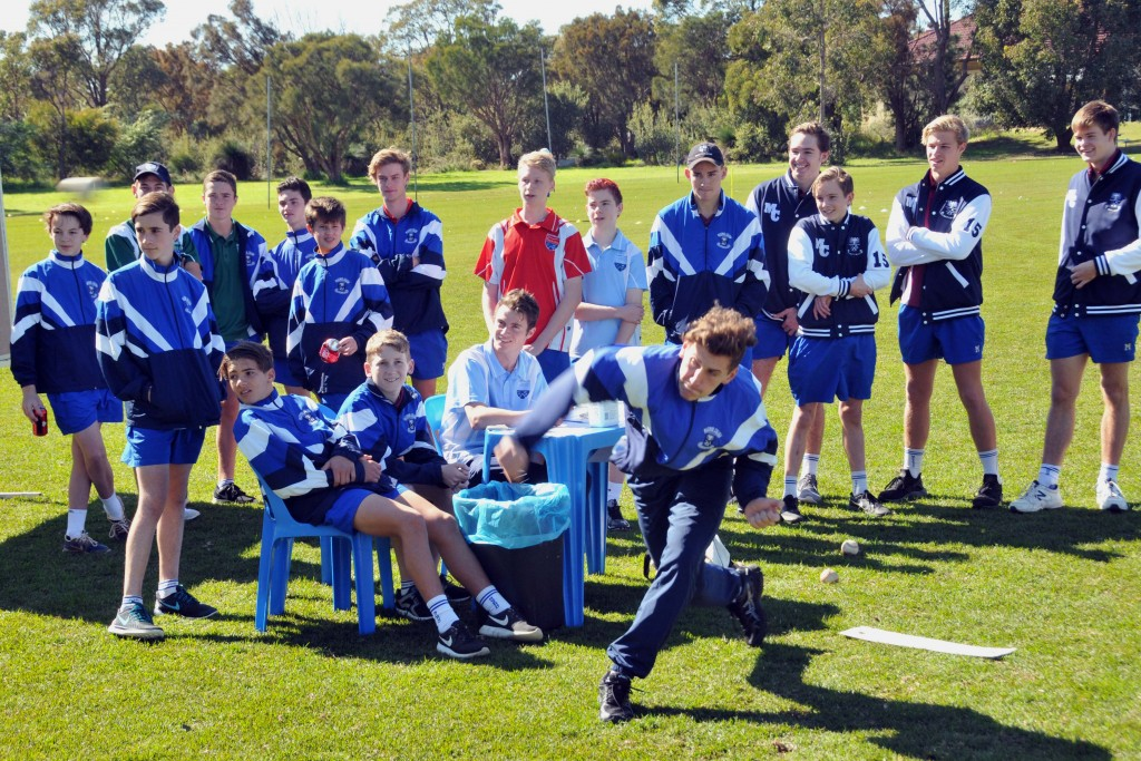 Faith-based initiatives such as Mazenod Mission Day, which raises funds for communities supported by Oblate priests in India and China, have been a feature of Mazenod College over the past 50 years. Photo: Supplied