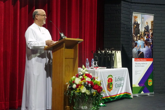 The Superior General of the De La Salle Brothers, Robert Schieler last week delivered an powerful address to a major educational conference in Perth, reflecting upon the changing nature of religious education in a multicultural and multifaith society. Photo: Supplied.