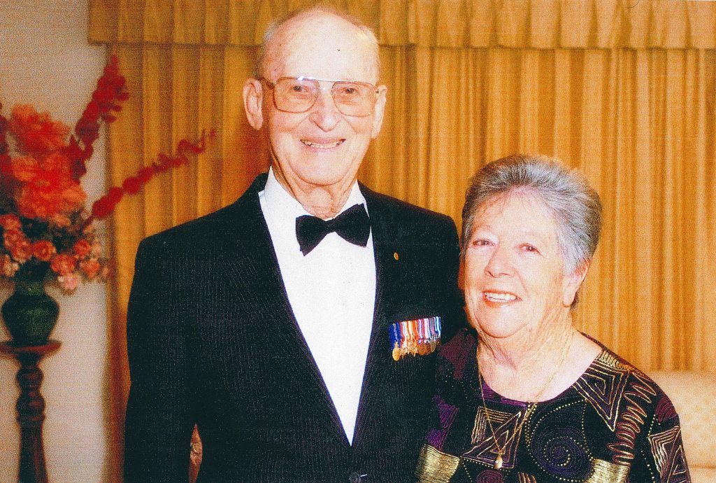 Tom Fisher, pictured with wife, Shirley, passed away on 4 June after a life dedicated to serving his family, his community and his country. Photo: Supplied