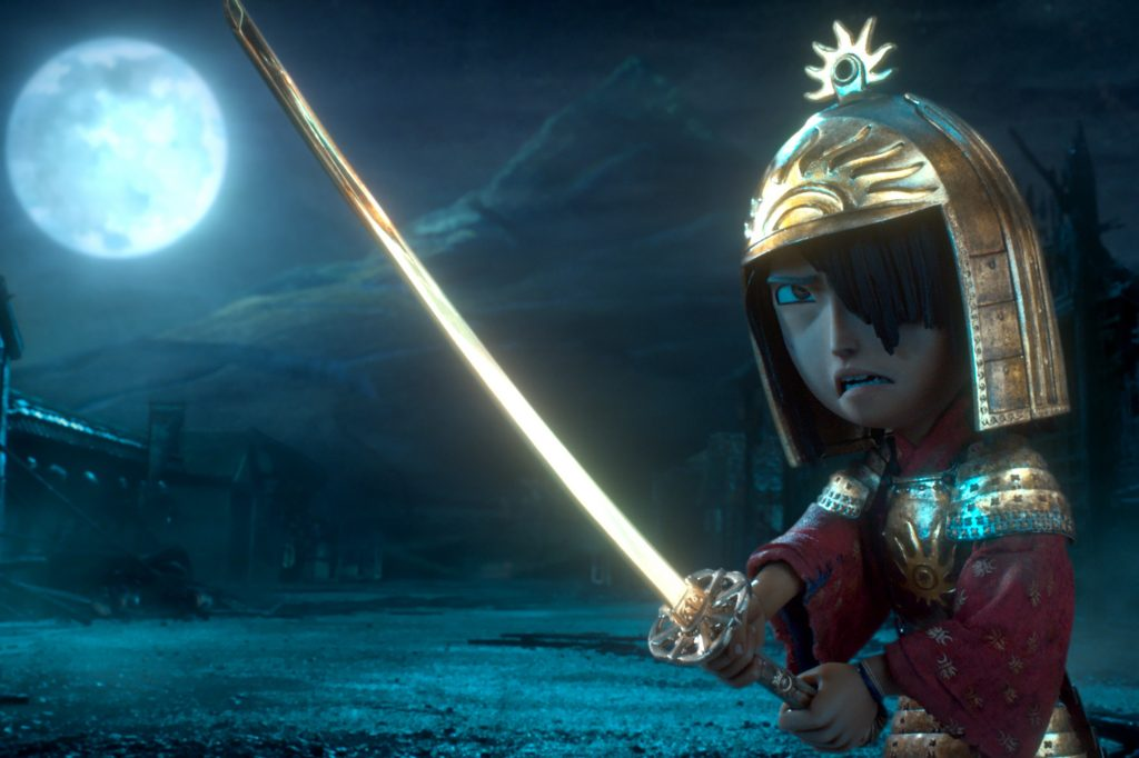 Kubo, voiced by Art Parkinson, is seen in the animated movie Kubo and the Two Strings. Photo: CNS/Focus Features