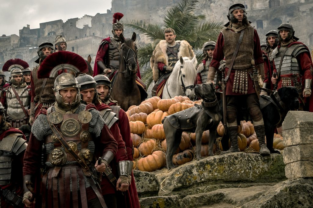 Toby Kebbell and Pilou Asbaek star in a scene from the movie Ben Hur. Photo: CNS/Paramount Pictures and Metro-Goldwyn-Mayer Pictures Inc.