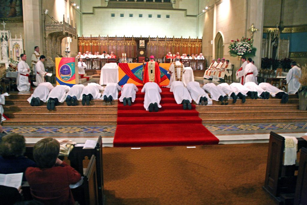 From tending to the sick and those seeking refuge, to co-ordinating religious education and adult formation programs, and celebrating the sacraments of marriage and baptism, Albert Atkinson and Paul Stacy have been kept busy this past decade. Photo: Jamie O'Brien