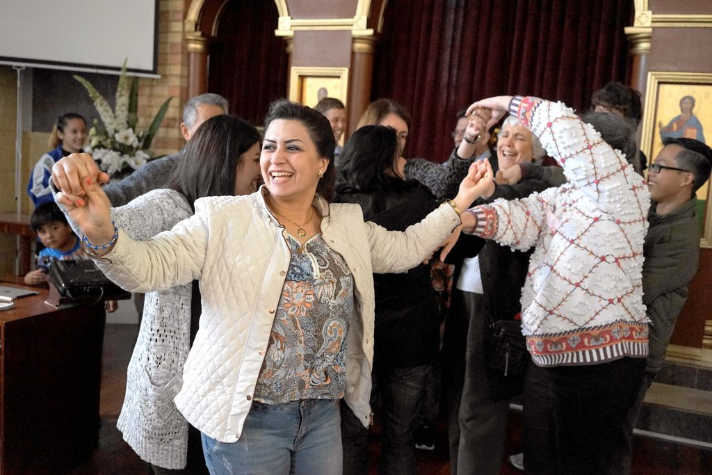 Various activities, including dancing, were organised to foster a sense of unity and a spirit of communion among all participants. Photo: Supplied