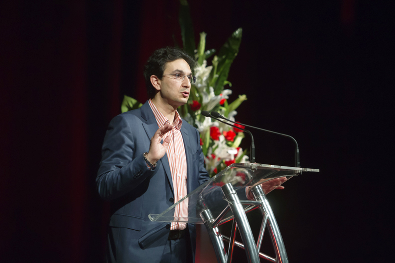 Invited to speak at this year's MercyCare Oration, Mr Al Muderis recounted his life story, describing his experiences as a one-time refugee turned orthopaedic surgeon, author, and human rights activist. Photo: Supplied