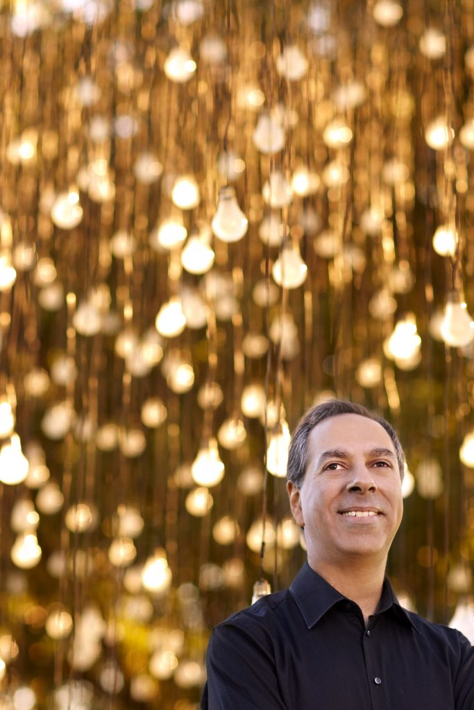 Australian conductor Jangoo Chapkhana said he hoped the music featured in the Illuminations concert would inspire and delight the audience. Photo: Supplied