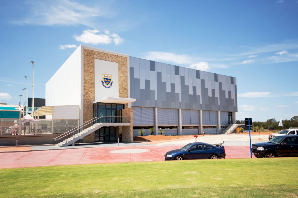 The record trinity college celebrates completion of new for Architecture firms perth