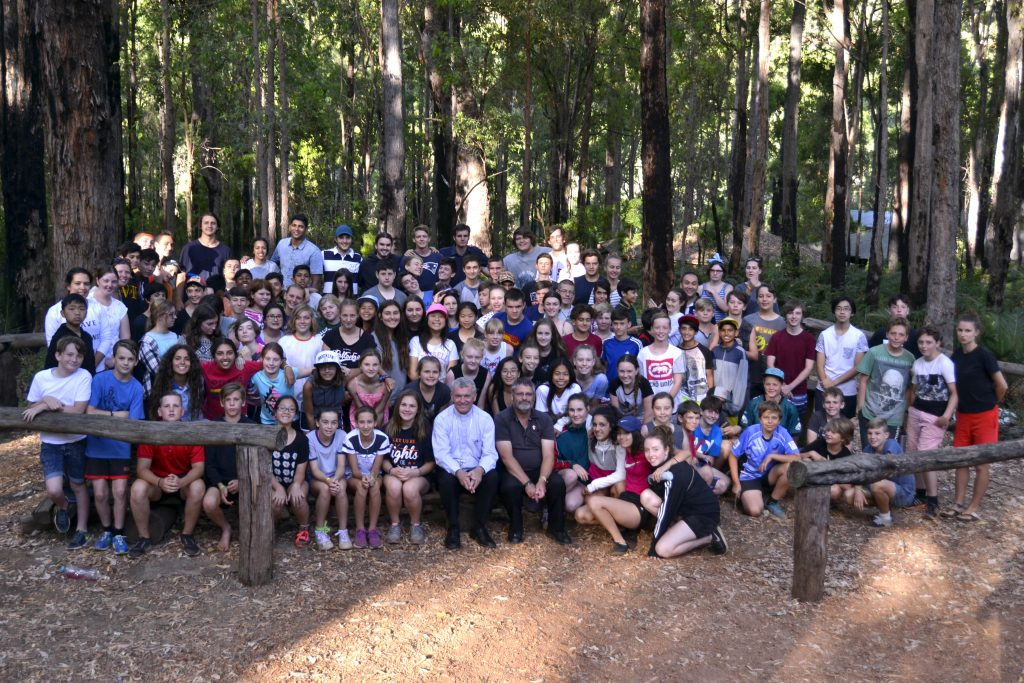 The WA Young Salesians Summer Camp in Dwellingup brought together campers and organisers for a week of fun outdoor activities and reflection. Photo: Supplied