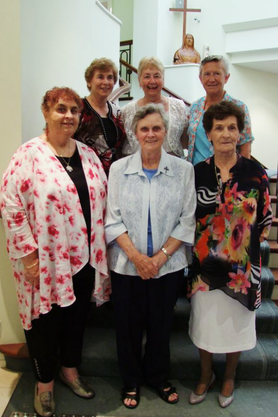 Sisters from the CentreWest region - which includes Western Australia and South Australia – who celebrated their Golden Jubilee in January. Back row: Sisters Christine Schwerdt, Eileen Johnson and Maureen Donnelly. Front row: Sisters Helen Duke, Ursula Hoile and Maureen O'Connor. Photo: Supplied
