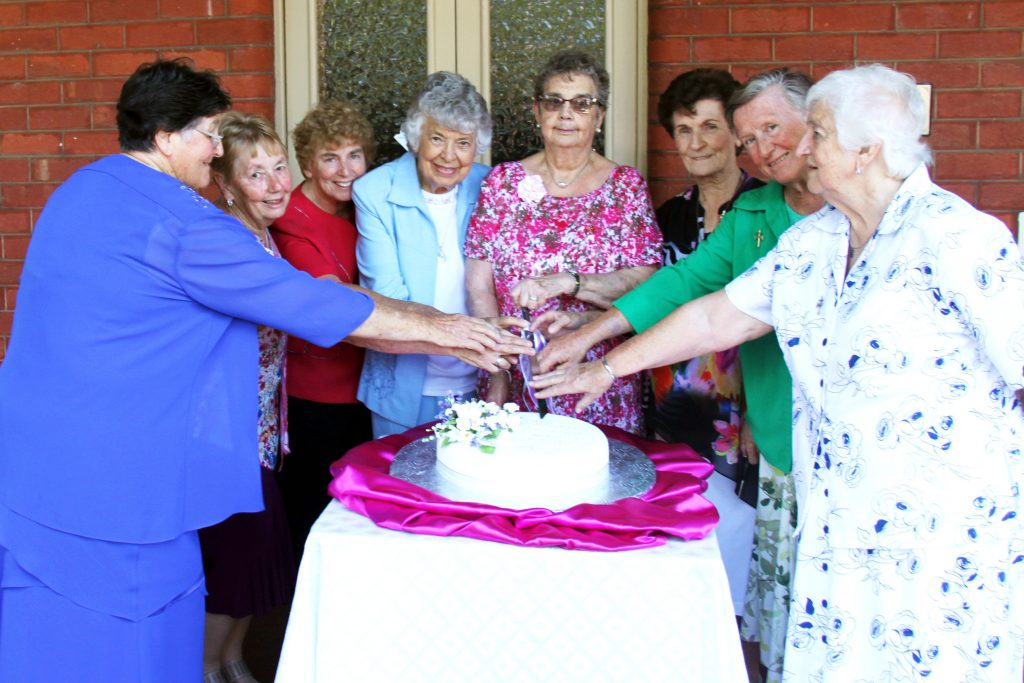 After serving their communities and the Church for fifty years or more, Jubilarians from the Sisters of St Joseph of the Sacred Heart had plenty of reason to celebrate last month, at a Mass and afternoon tea in Perth. Photo: Supplied