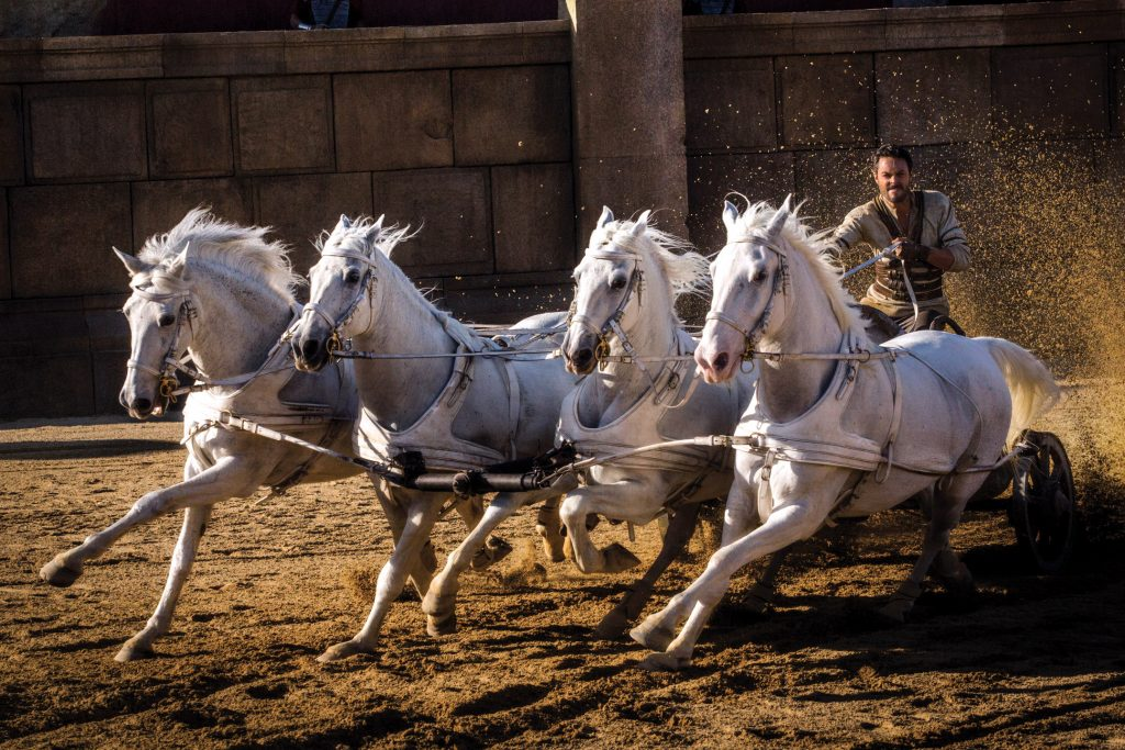 Jack Huston stars in a scene from the movie Ben-Hur. Photo: CNS /Paramount Pictures and Metro-Goldwyn-Mayer Pictures Inc