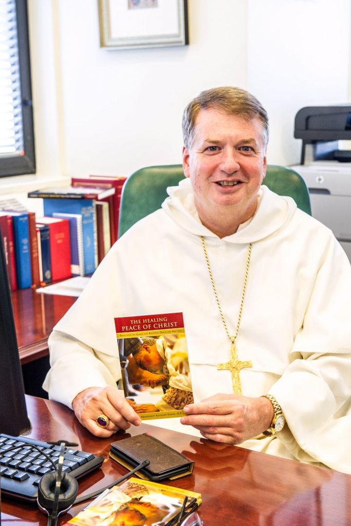 Archbishop of Sydney, Anthony Fisher, has written a book about his experience of having Guillain–Barré syndrome. Photo: Giovanni Portelli