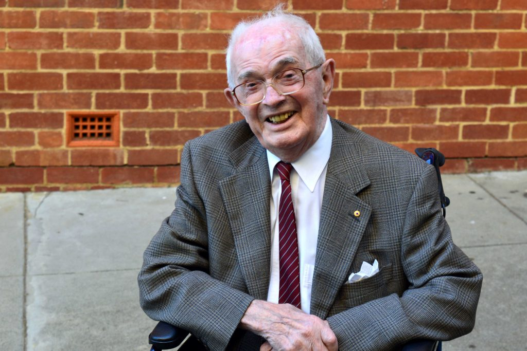 The life of Dr James (Jim) McNulty was one dedicated to public health in Western Australia, particularly through his work raising awareness of mesothelioma and other illnesses associated with asbestos exposure from the 1950s onwards. Image: Supplied